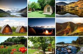 £49 for an overnight glamping break for two people, £89 for two-nights at a choice of over 30 UK locations from Buyagift!