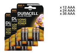 £3.98 instead of £19.99 for a 12 AA or AAA Duracell Plus Power batteries, £7.98 for 24 AA or AAA batteries or £10.98 for 36 AA or AAA batteries - save up to 67%