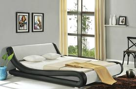 £99 instead of £580 (from Furniture Italia) for a double 'Amari' faux-leather bed, or £119 for a king size - save up to 83%