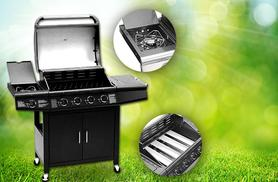 £179 instead of £499 for a five-burner Fireplus gas BBQ - fire it up and save 64%