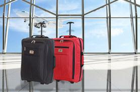 £10 instead of £16 for a cabin-approved Slimbridge Almagro bag from Karabar Ltd - choose from black or red and save 38%