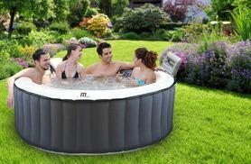 £239 (from eBuyer) for a inflatable four-person hot tub spa - get bubbly this summer!