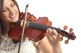 £9 instead of £40 for an interactive 'teach yourself violin' app from Purely Musical - save 78%