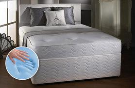 £59 (from Midnight Dreams) for a single CoolBlue memory sprung mattress, £69 for double, £89 for king size - save up to 84%
