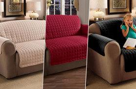 £14.99 (from Gorgeous Selection) for a one-seater sofa cover, £19.99 for a two-seater or £23.99 for a three-seater cover - choose from three colours and save up to 65%