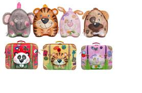 £14 (from Great Gizmos) for a kids' Wildpack backpack, £19 for a trolley or £24 for a suitcase - choose from a range of animal designs and save up to 42%