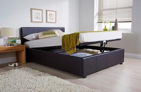 From £139 for an end-lift Ottoman storage bed, from £199 to include a memory foam mattress - choose from two colours and save up to 65%