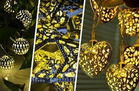 £7.99 instead of £21 (from Sashtime) for a set of 12 solar string lights- save 62%