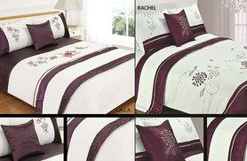 £12.99 instead of £47.70 for a five-piece 'bed in a bag' double duvet set, or £16.99 for a king size set - save up to 73%