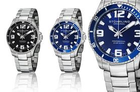 £69 instead of £395 for a men's Regatta Champion 'Aquadiver' watch - choose from two gorgeous designs and save 83%