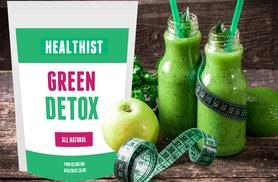 £16.99 (from Healthist) for a 30-day* supply of Supergreen detox meal replacement shakes or £34.99 for 90 days*