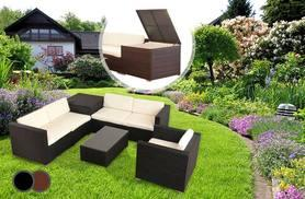 £499 instead of £1199 for a seven-piece Vegas rattan furniture and cushion set - save 58%