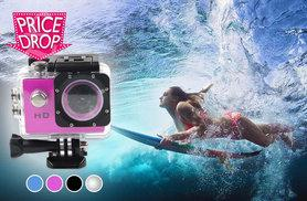 £14.99 (from EFMall) for a waterproof sports mini DV action camera - save 67%
