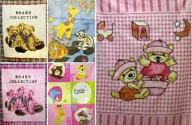 £13.99 instead of £29.99 (from Gorgeous Selection) for a gift boxed baby blanket in a choice of five styles - save 53%