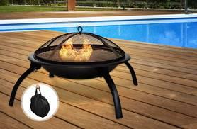 £34 instead of £89.99 (from Funky Buys) for a portable fire pit and carry bag - save a smokin' 62%