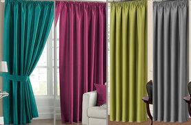 From £8.99 for a pair of thermal blackout curtain linings - choose from nine sizes and save up to 77%