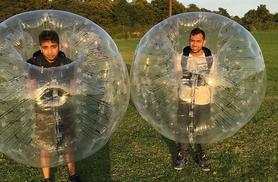 £119 instead of £300 for a 75-minute Zorb football experience for up to 10 people at Zorb Strike, Ware - save 60%