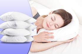 £15.99 instead of £98.99 for a pack of eight bounce-back pillows - save 84%