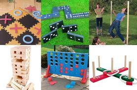 From £5 (from Hungry Bazaar) for a choice of six garden games - choose quoits, dominoes, jenga and more