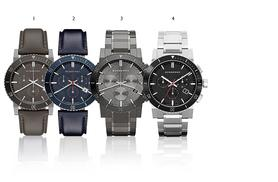 £179 instead of £642.01 (from Gray Kingdom) for a men's Burberry watch - choose from four designs and save up to 72%