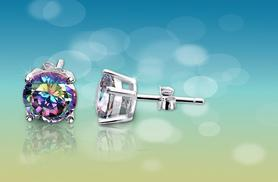 £6 instead of £58 (from Evoked Design) for a pair of mystic topaz silver-plated earrings - save a sparkly 90%