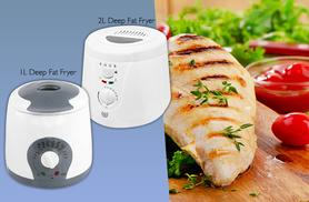 £9.99 instead of £35 for a one-litre deep fat fryer, or £12.99 for a two-litre deep fat fryer - save up to 71%