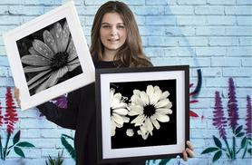 £6.95 instead of £69 (from ARTF.LY) for a 250mm x 250mm framed floral canvas print, £13.95 for a 380mm x 380mm print - choose from 33 designs and save up to 90%