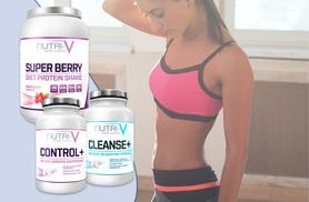£17 instead of £110 for a 1kg tub of super berry 'weight management' protein shake and a one-month* supply of 'detox' and 'appetite suppressant' supplements - save 85%