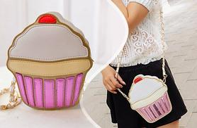 £12 instead of £34.99 (from Who Runs the World) for a summer statement handbag featuring a cupcake, ice cream or lemon - save 66%