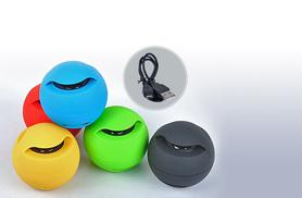 £6.99 instead of £29.90 for a mini Bluetooth ball speaker from - choose from five colours and save 77%