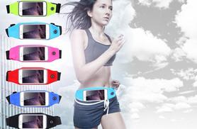 £4.99 instead of £24.99 (from EFMall) for a waterproof running pocket belt - choose from five colours and save 80%