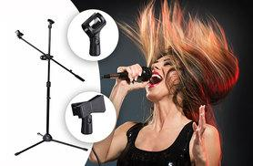 £12.99 instead of £36 (from Sashtime) for a professional microphone stand with boom arm - save 64%