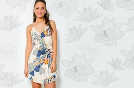 £9.99 instead of £29.99 for a leaf print summer dress - save 67%