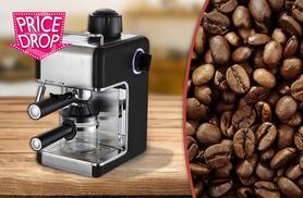 £29.99 instead of £51 for a Sentik espresso coffee machine - save 41%