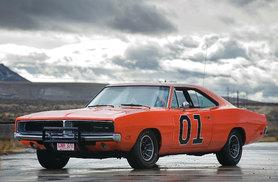 £39 instead of £99 to drive three laps in the famous 'The Dukes of Hazzard' General Lee Dodge Charger with Car Chase Heroes - choose from five locations and save 61%