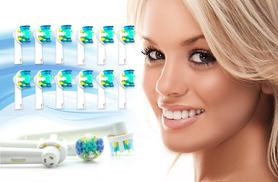 £6 (from Pretty Essential) for 12 Oral B-compatible Floss Action toothbrush heads, or £11 for 24 heads