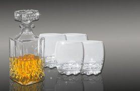 £8 instead of £26 (from Sashtime) for a five-piece whiskey decanter set - sip and save 69%