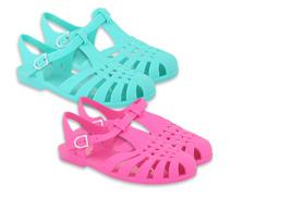 £10 instead of £25.98 (from Online Avenue) for two pairs of jelly sandals - choose from three designs in multiple colours and save 62%