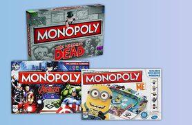 From £14.99 for a choice of six monopoly games from Linen Ideas!