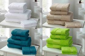 £9.99 instead of £37.70 for six super soft Egyptian cotton towels – choose from twelve colours and save 75%