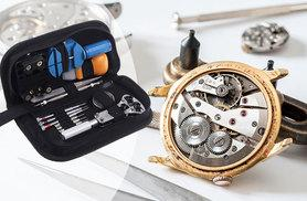 £8 instead of £41.90 (from Kendor Van Noah) for a watch repair kit with storage bag - clock on and save 81%