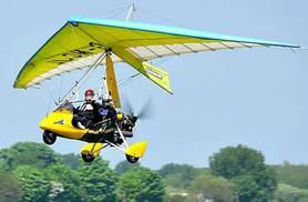 £65 for a 30-minute microlight flight experience in Leven, York, from Buyagift