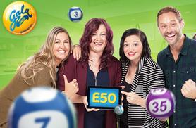 £2 for £45 Gala Bingo credit to spend online at GalaBingo.com - save 96%