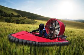 From £29 for a five-lap hovercraft experience, from £34 for ten laps at Hover Limits, Essex, Blyton Park or Vale of Glamorgan - save up to 63%