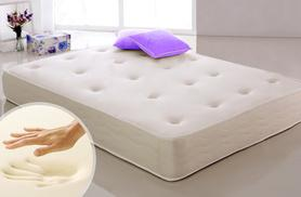 £69 instead of £396.99 for a single memory sprung mattress, £89 for a double, or £99 for a king size mattress – snuggle up and save up to 83%