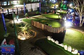 £10 instead of £18 for 18 holes of adventure golf for two people, or £19 for four people at Captain's Bay Adventure Golf, Hendon - save up to 44%