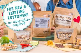 £10 for £20 of graze credit to spend online at graze.com - save 50%
