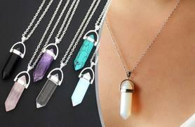 £6.99 instead of £49.99 (from Treats on Trend) for a Reiki pendant necklace - choose from six different stones and save a healing 86%