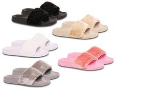 £12 instead of £26 (from Solewish) for a pair of summer sliders - channel Kim Kardashian's style and save 54%
