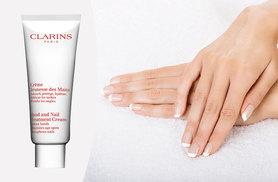 £15 instead of £20.51 for a 100ml bottle of Clarins hand and nail treatment cream from Deals Direct - save 27%